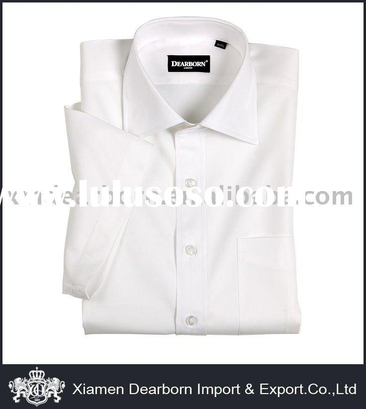 100% Cotton White Dress Shirt