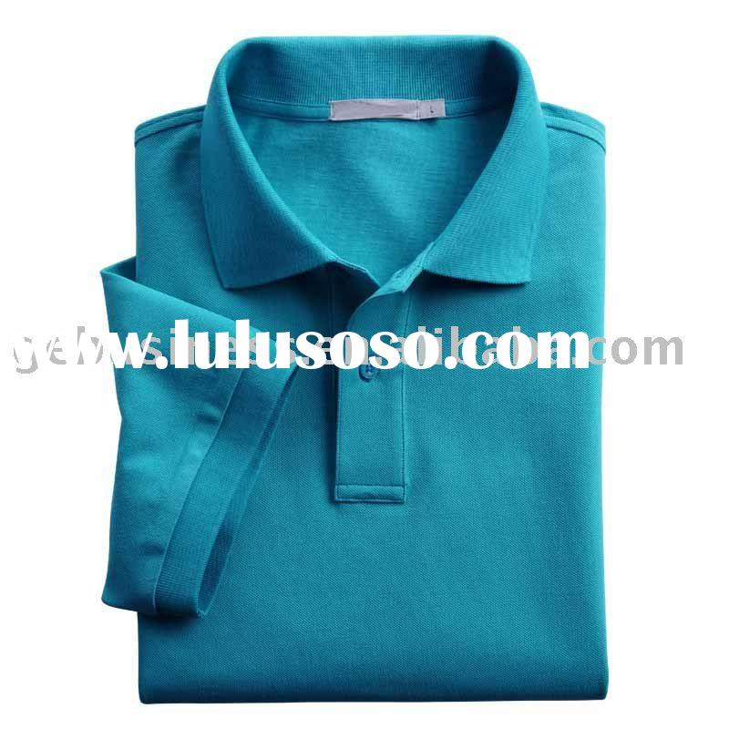 100% Cotton the high quality men's polo shirt & polo t shrit/GE-9123158