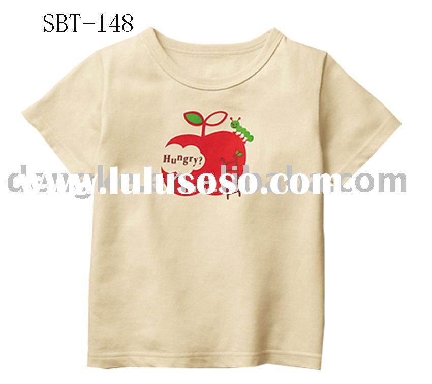100% cotton kid t shirt