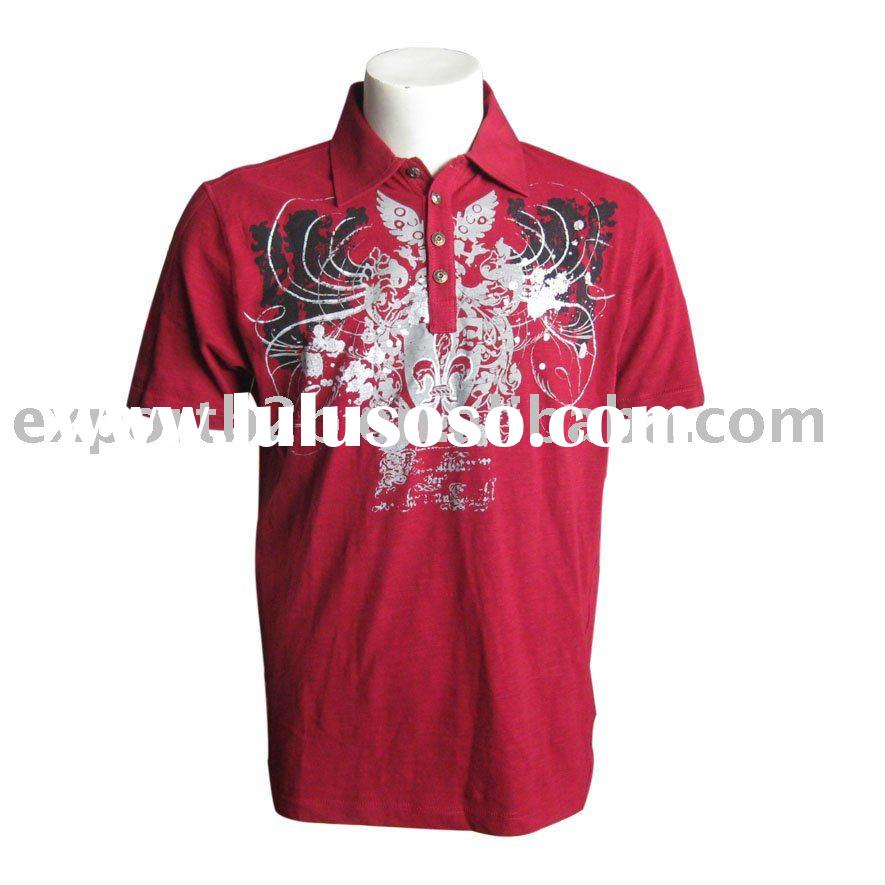 2010 fashion design men's polo shirt