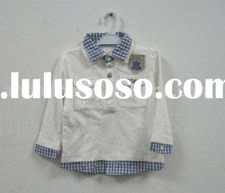 2011 New Arrival children's garments baby polo shirt