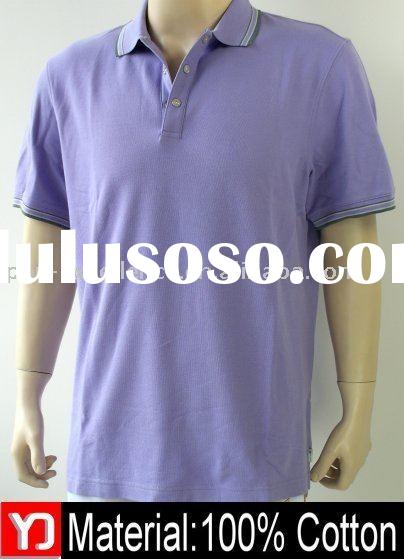 2011 Newest polo design t-shirt