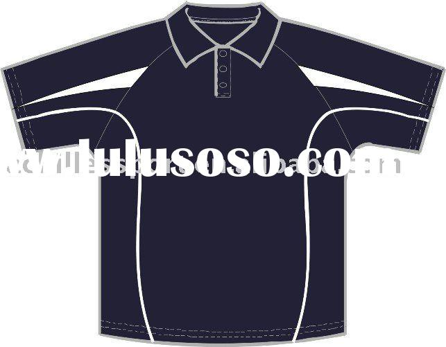 2011 new polo shirt, cool dry fabric, 140gm, customized design, No MOQ demand