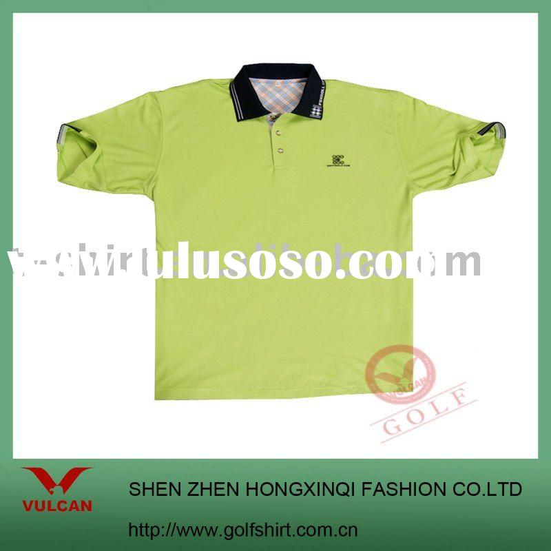 2011 newest design 100% polyester dry fit men's polo shirt