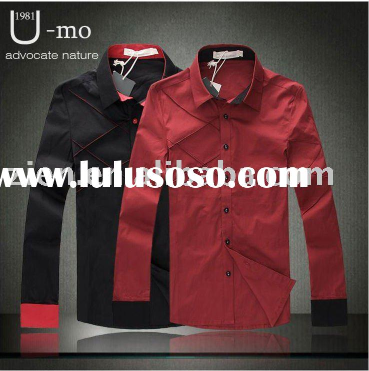 2 colors casual man shirt