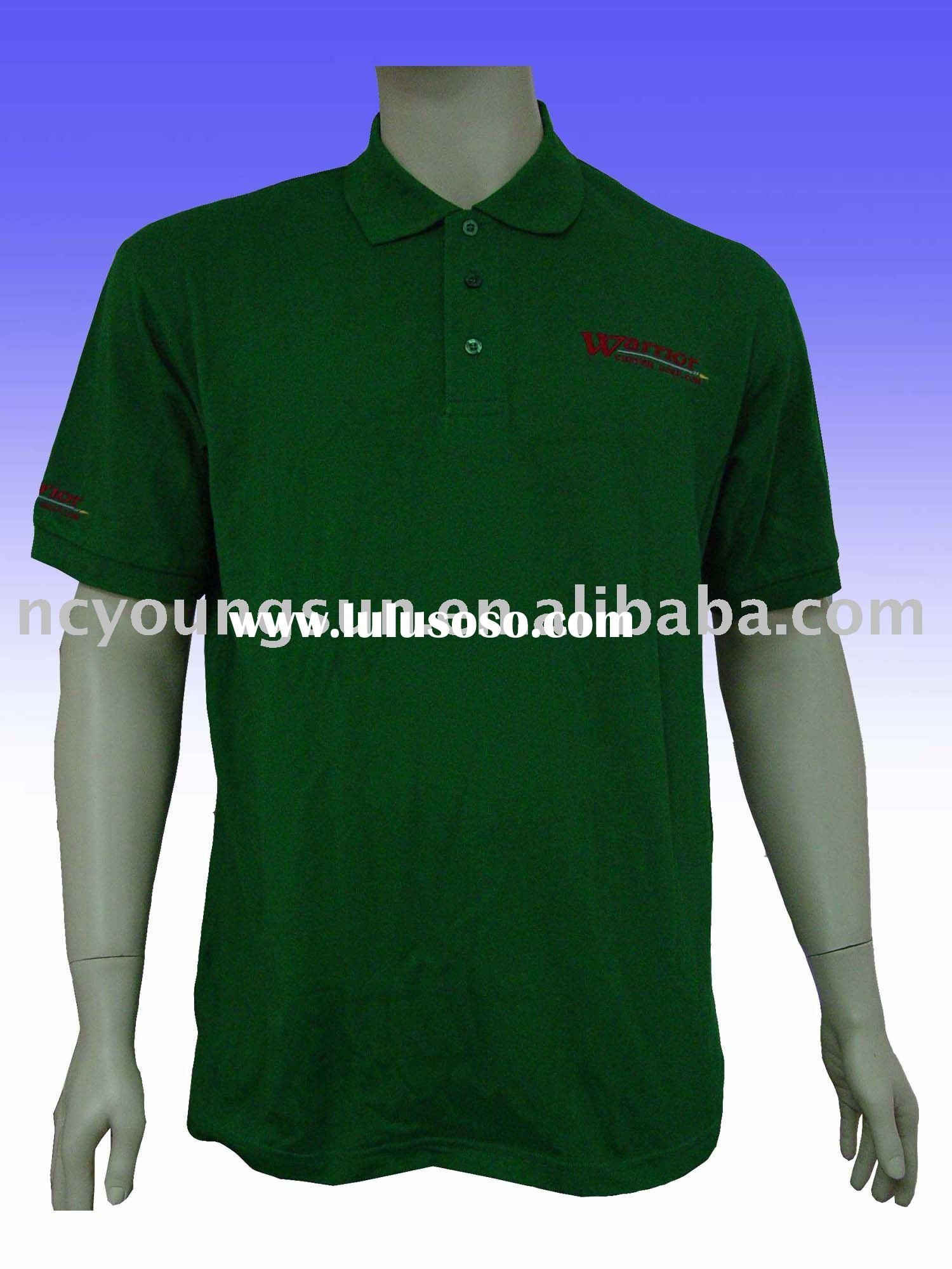 Black  Men's Polo tshirt