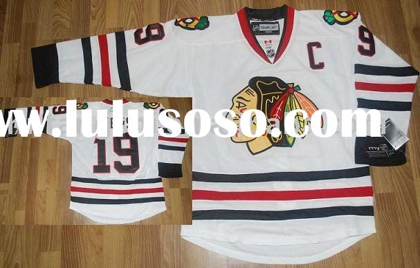 Chicago Blackhawks # 19 TOEWS white  jerseys accept custom and mix order top quality