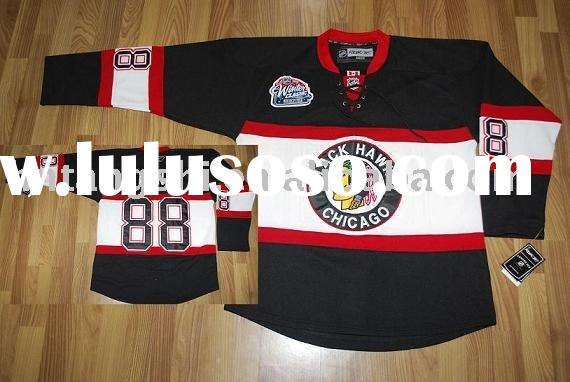 Chicago Blackhawks # 88 KANE winter classic jerseys accept custom and mix order top quality