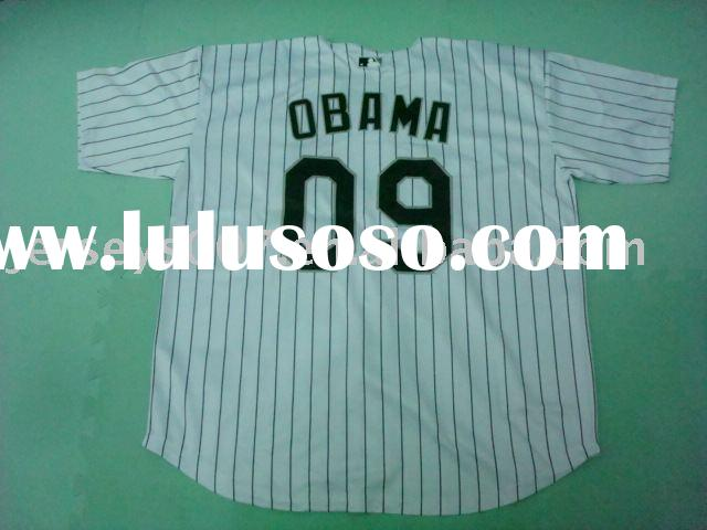 Chicago White Sox Obama #9 Home jersey baseball jerseys, accept paypal+drop shipping