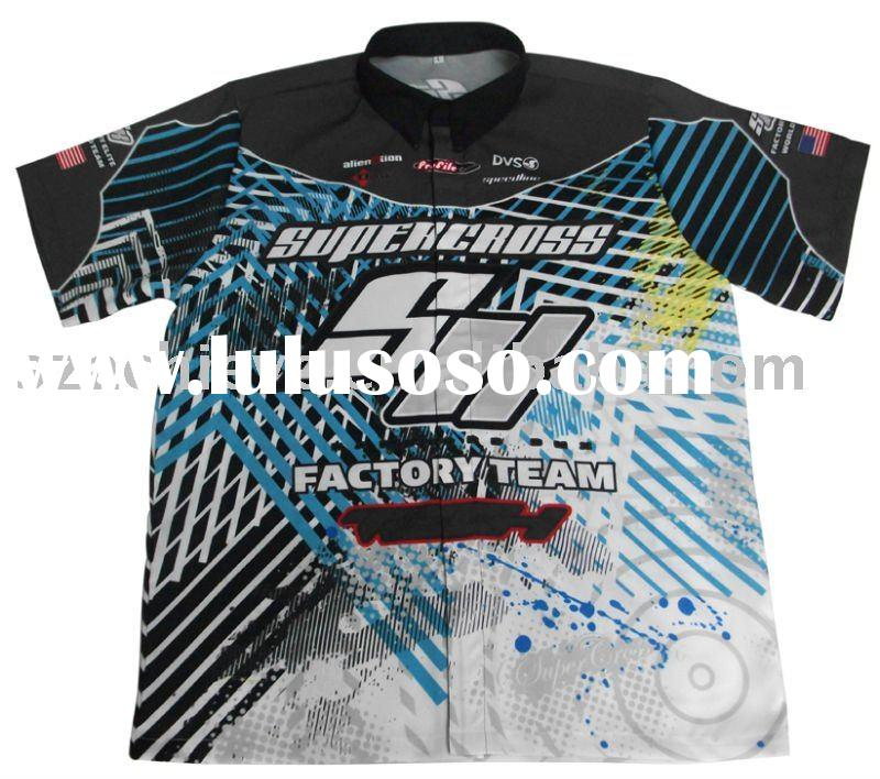Custom made  Motorcycle Racing shirts