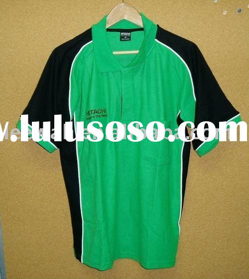 Customized polo shirt with print or embroidery logo