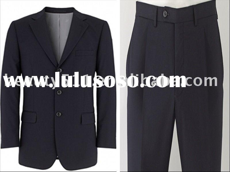 Dark Navy Men's 3 Button Slim Fit Suit mr-2