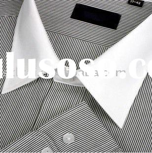 Dress shirt white collar