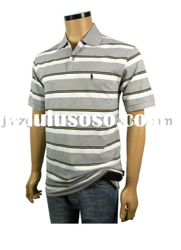 Embroidery jersey polo shirt