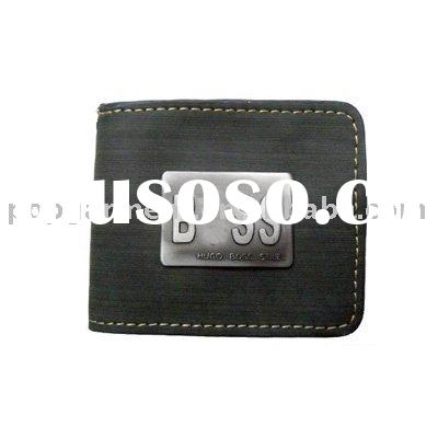 Latest style! brand name wallets,men's leather wallets,boss wallets