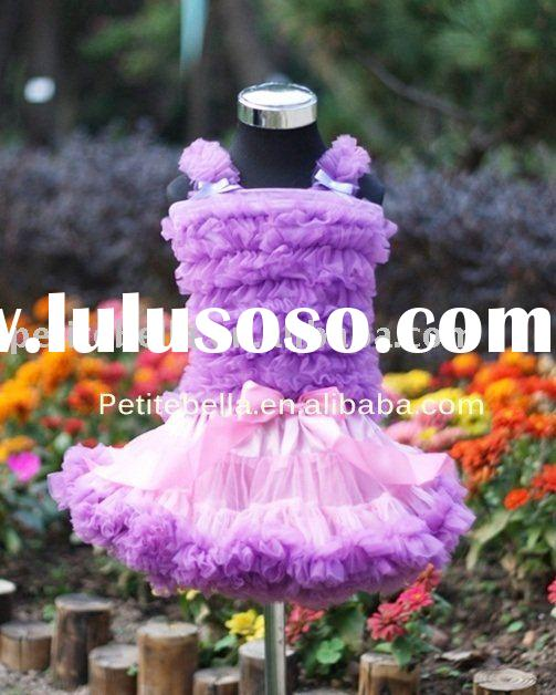 Light Pink Purple Pettiskirt,Purple Ruffles Pettitop,Clothing Set ,Skirt,Shirt,Tank Top MAMR51