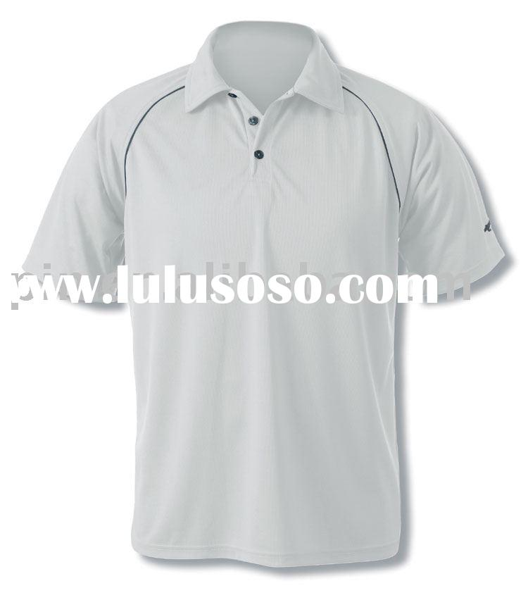 Sports t shirts polo shirts with polyester pique silk for Screen printing polo shirts