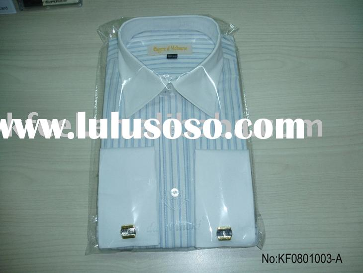 Men's Popular French Cuff  Dress shirts