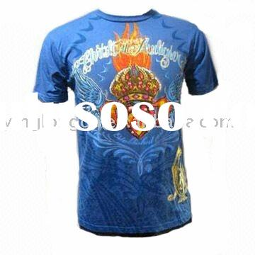 Men's Sublimation print T shirt with customed designs