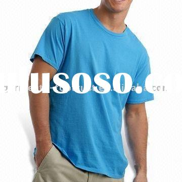 Mens cotton casual t shirt