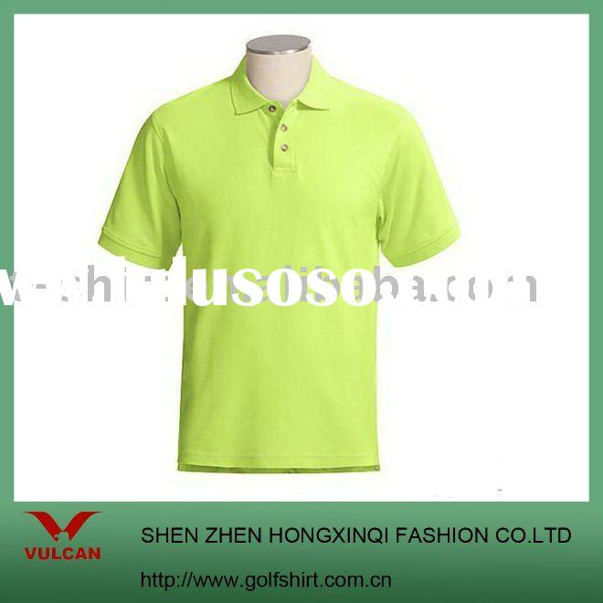 Mint Green Solid Color POLO shirts accept your own design