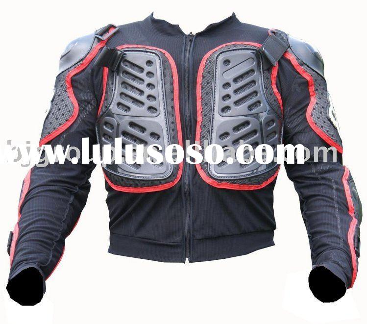 Motorcycle Armor Shirt, Motorcycle back protectors and knee sliders,Racing Armor