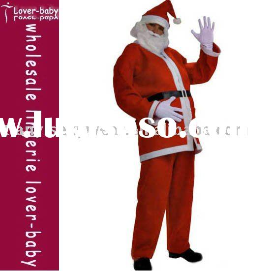 Santa Suit,Mens Santa Suit,comes with clothes and trousers .without hat and gloves .