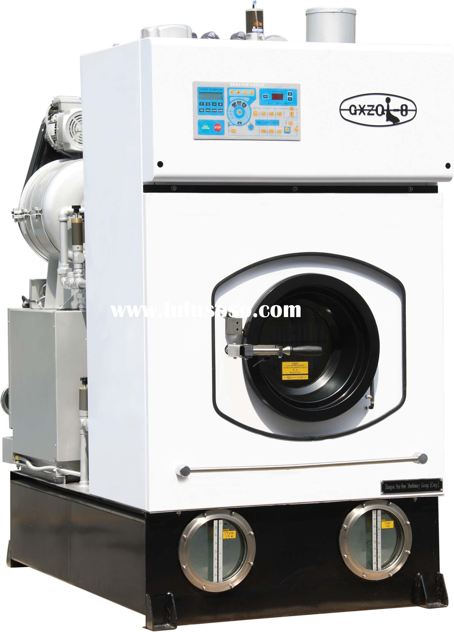 Sea-lion GXZQ-8 dry cleaning machine