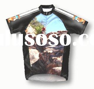 Short sleeve cycling wear