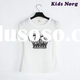 White Crown Kids T-shirt, Children's Clothing, Kids Clothing