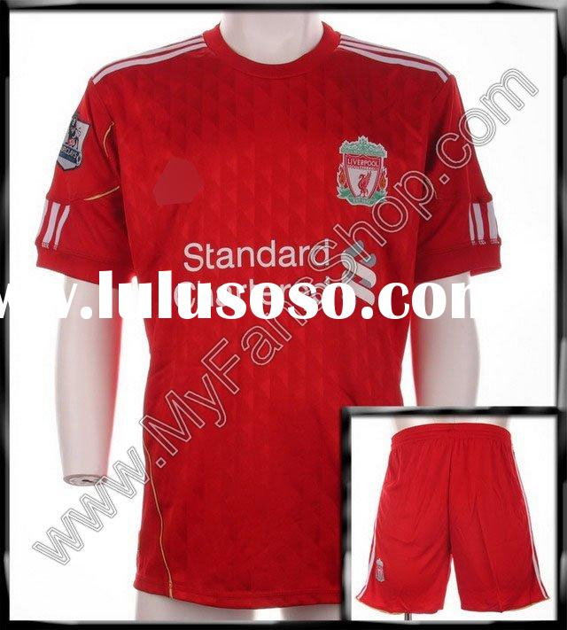 Wholesale 10-11 Liverpool home soccer shirt