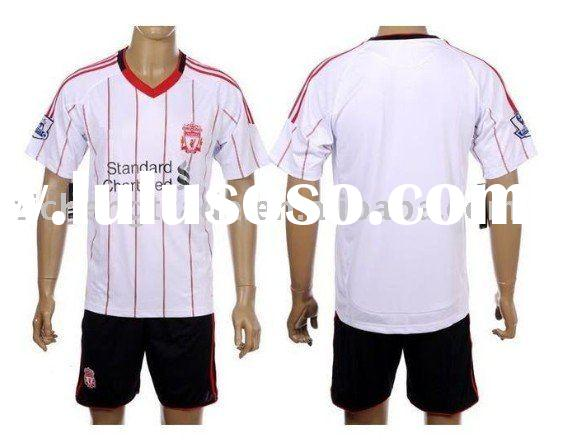 Wholesale Liverpool 10/11 Away Plain Soccer Jersey With Custom Design