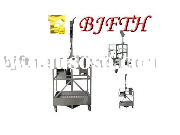 ZLP glass cleaning equipment with wall rollers