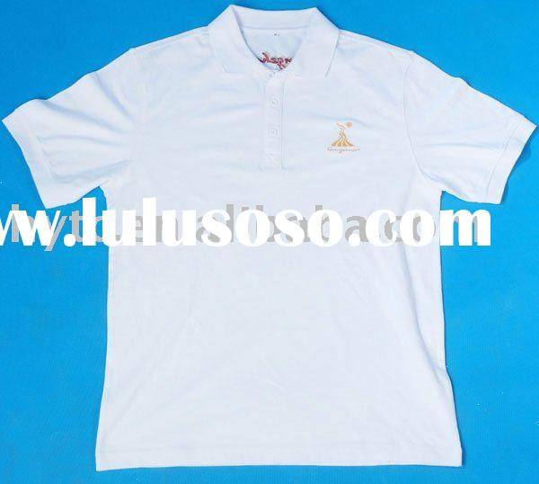 cheap printed white Polo shirts
