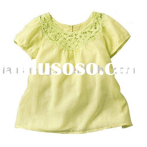 fashion baby short sleeves cotton t-shirt, baby wear