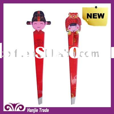 fashion beauty girl tweezer