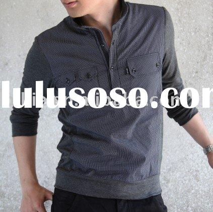 fashion polo collar mens t-shirt