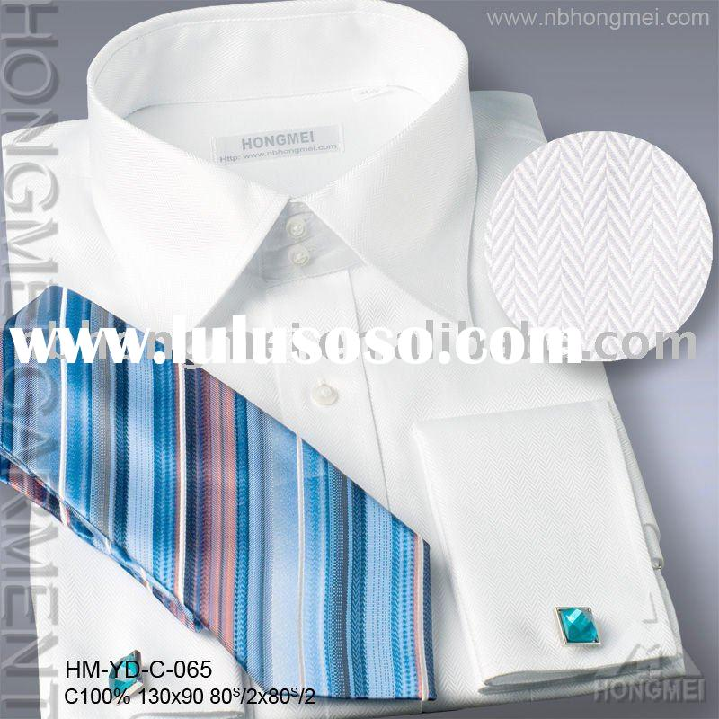 french cuff dress tie shirt