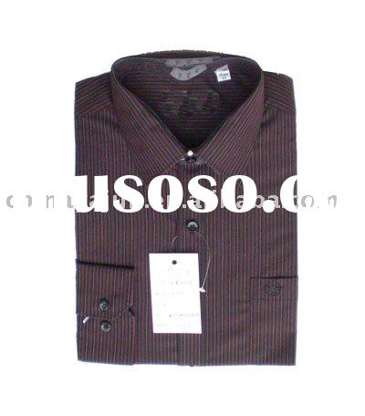 high collar men shirt