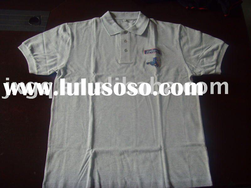 hot selling cotton men's pique or lacoste  polo shirts
