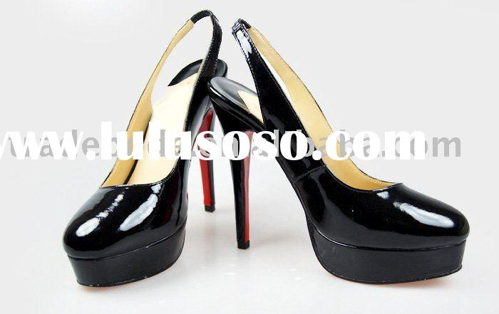 ladies best selling modern high heel dress shoes
