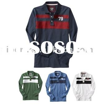 long sleeve polo shirt (S-08)