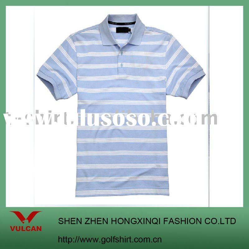 men's golf polo shirt made of cotton