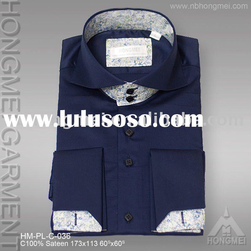 men's paned nice formal shirt