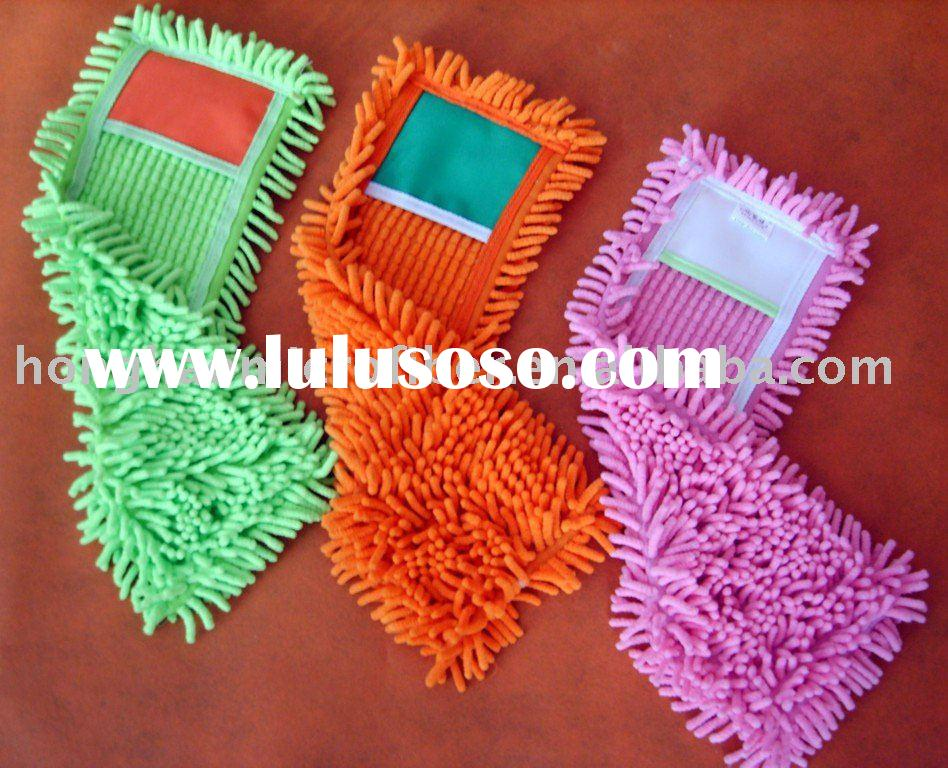 microfiber chenille mop,floor cleaning mop.chenille product