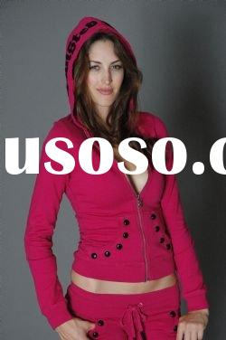 newest!!discount!! fashion clothes,lady hoody,hoody,hoody suit
