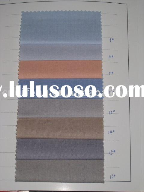 polyester/rayon fabric /for shirt/mens shirt fabric/