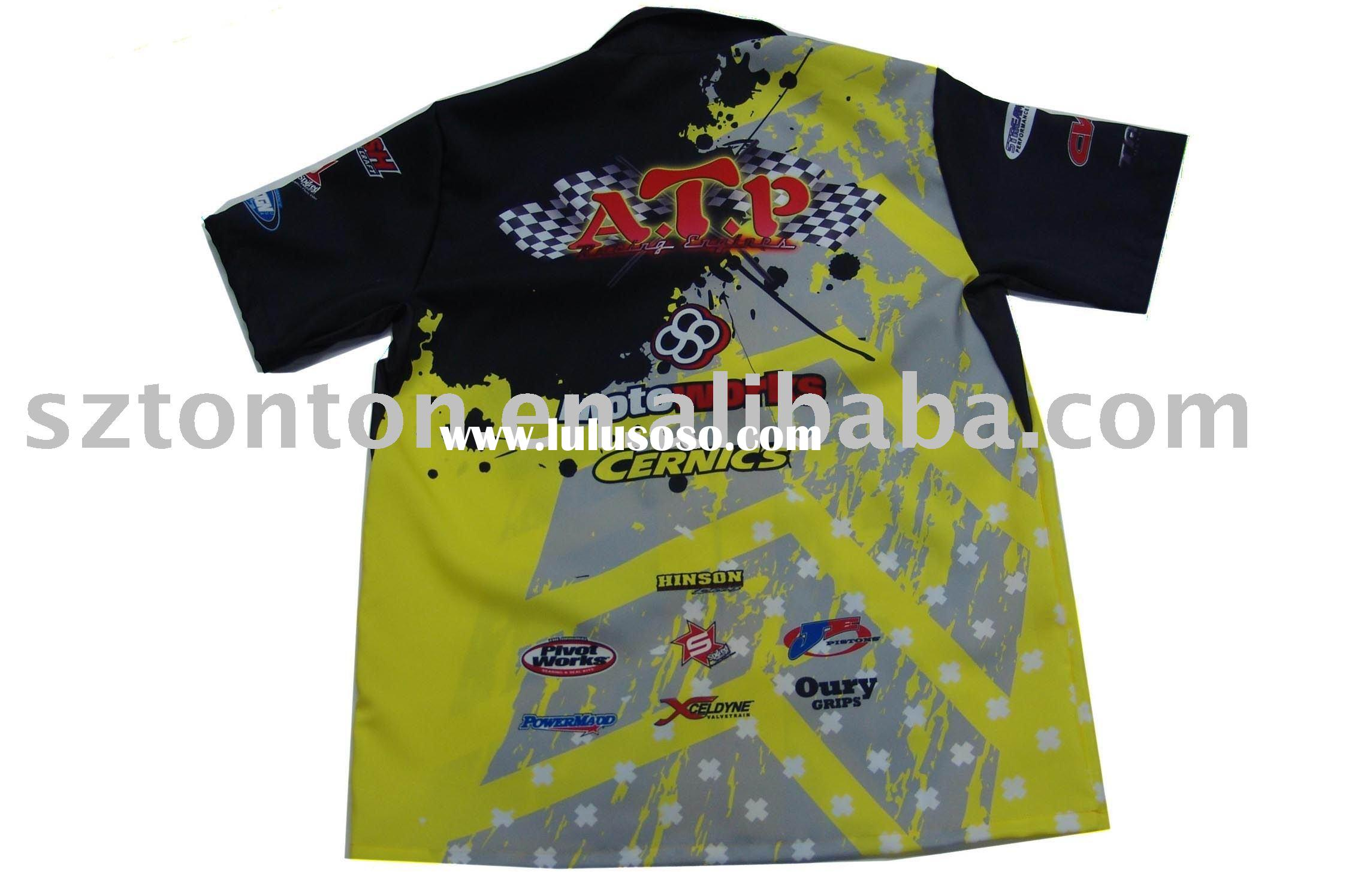 sublimation motorcycle t-shirts