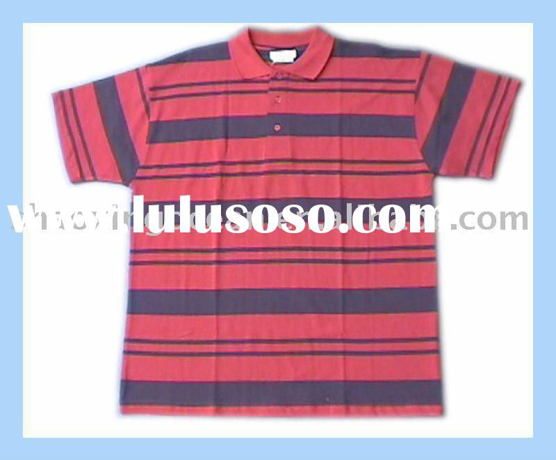 yarn-dyed polo shirts men