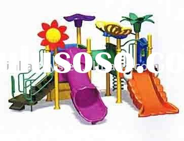 2011the hottest children plastic outdoor playground equipment